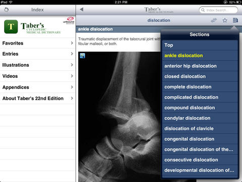 Taber's Medical Dictionary - 22nd Edition screenshot 8