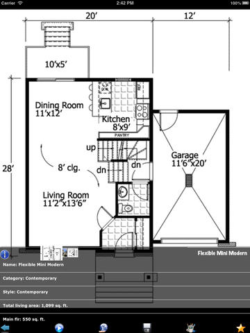 Contemporary Style House Plans screenshot 6