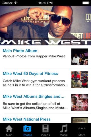 Rapper Mike West - náhled