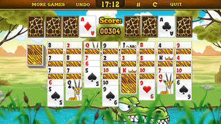 Wild Animals Solitaire screenshot 1