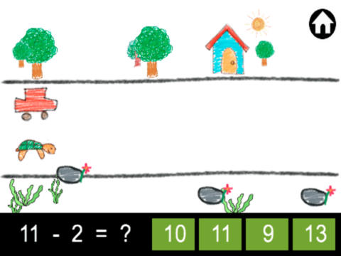 kid math race HD screenshot 5