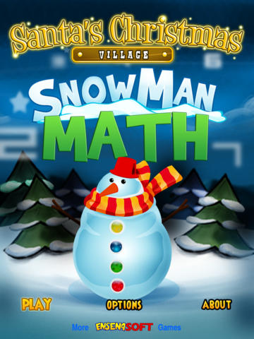 Snowman Math (Santa's Christmas Village) screenshot 4