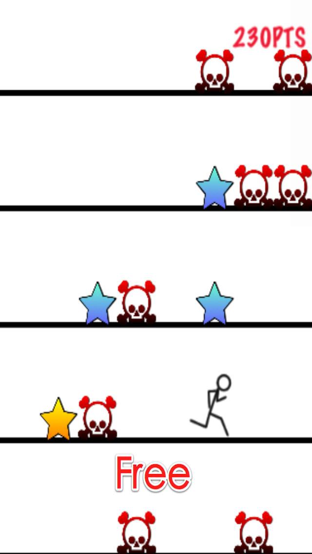 Adventure of Stickman: Jump and Run Free - Action Game screenshot 5