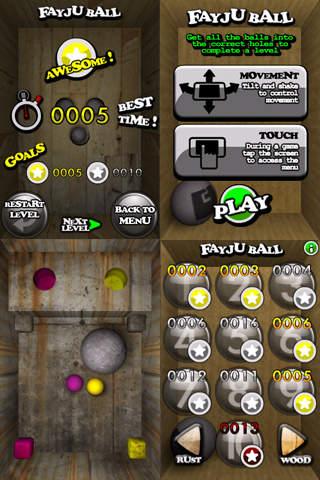 Fayju Ball Lite screenshot 2