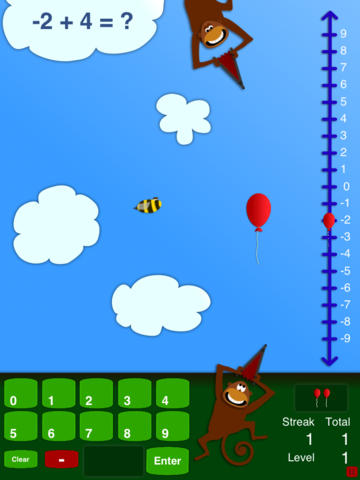 Integers for Monkeys screenshot 4