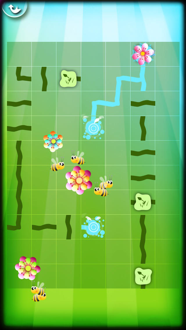 Magic Garden with Letters and Numbers - A Logical Game for Kids screenshot #3