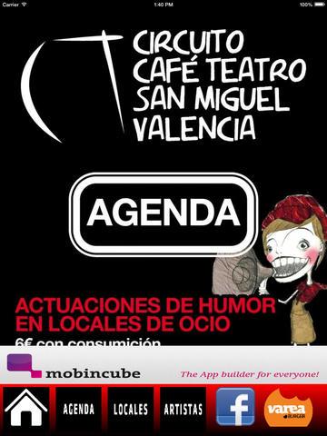 Circuito Café Teatro Vlc screenshot 6