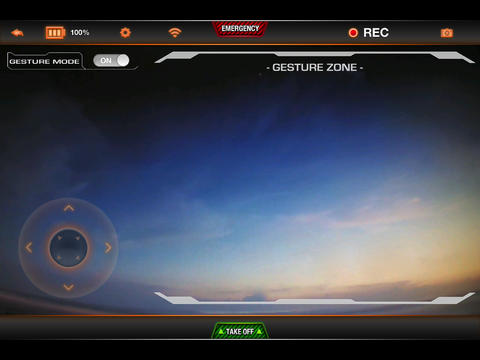 Gesture Drone for iPad screenshot 3