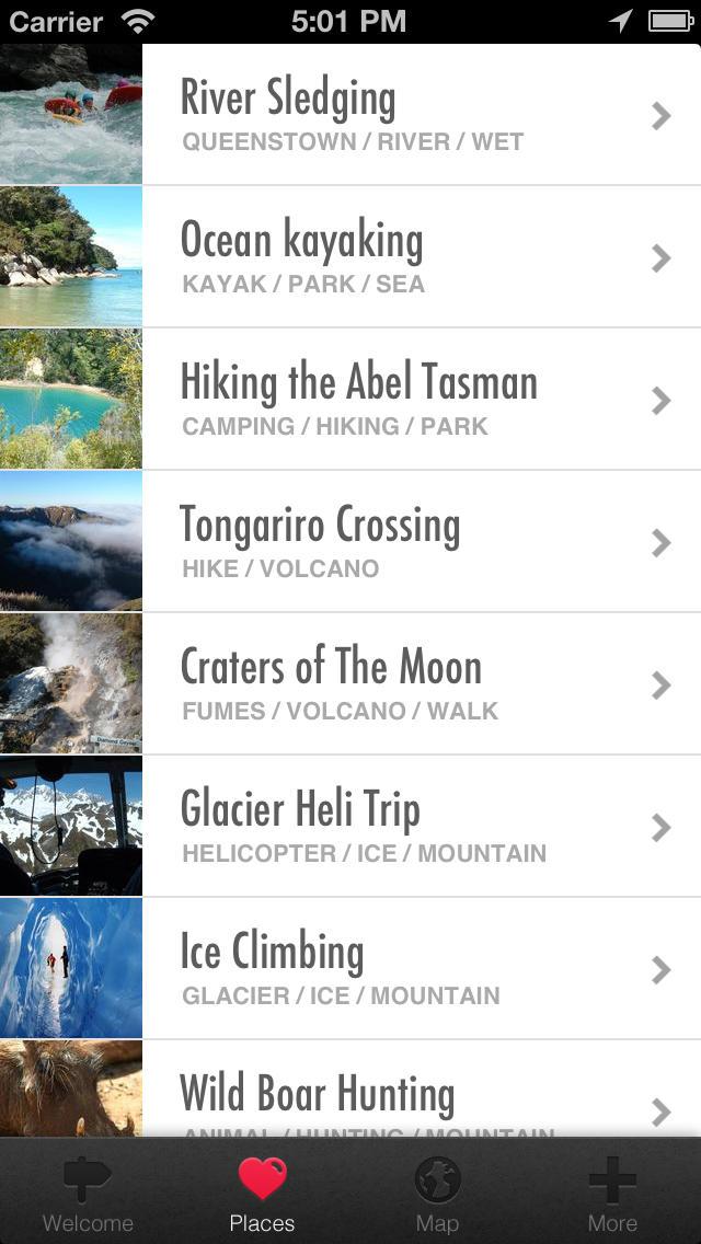 Adventure Travel New Zealand screenshot 3
