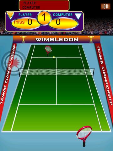 A Wimbledon Tennis Match Championships Pro Game Full Version screenshot 8