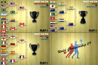 Touch Squash: World Championship 09 screenshot #4