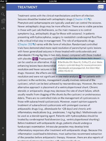 Goldmans Cecil Medicine, 24th edition screenshot 10