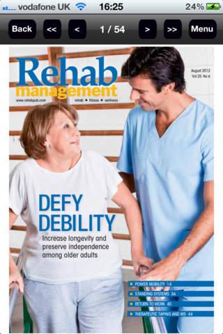 Rehab Management - náhled
