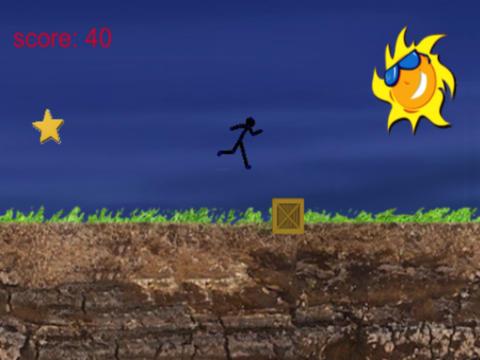 Cartoon Stickman: Jump And Run On Road screenshot 5