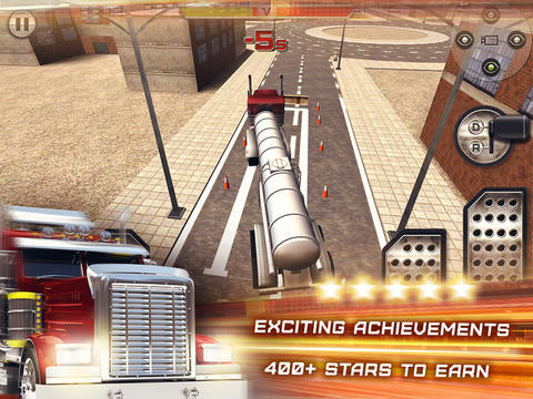 Trucker 3D Real Parking Simulator Game HD - Drive and Park Oil Truck and Semi Trailer screenshot 10