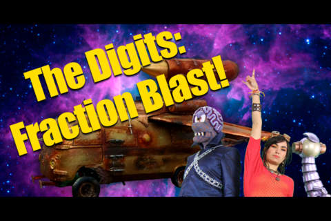 The Digits: Fraction Blast - náhled