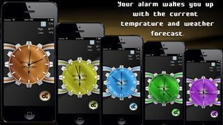 Neon Alarm Clock screenshot 2