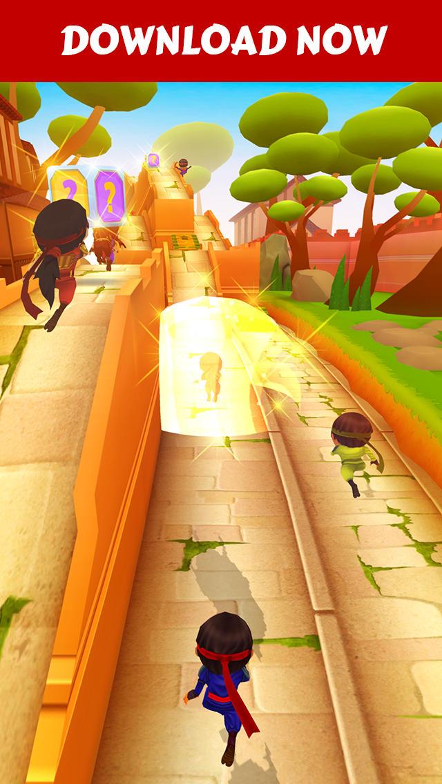 Fun Race Ninja Kids - by Fun Games For Free screenshot 3