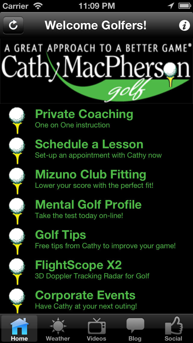 Cathy MacPherson Golf screenshot 1