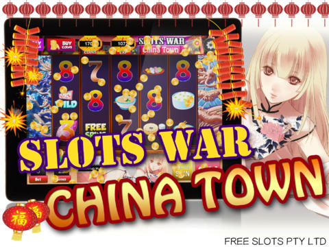 Slots – King of China Town HD screenshot 1