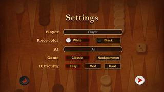 Top Backgammon screenshot 3