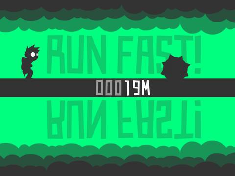 Flip Runner! screenshot #2