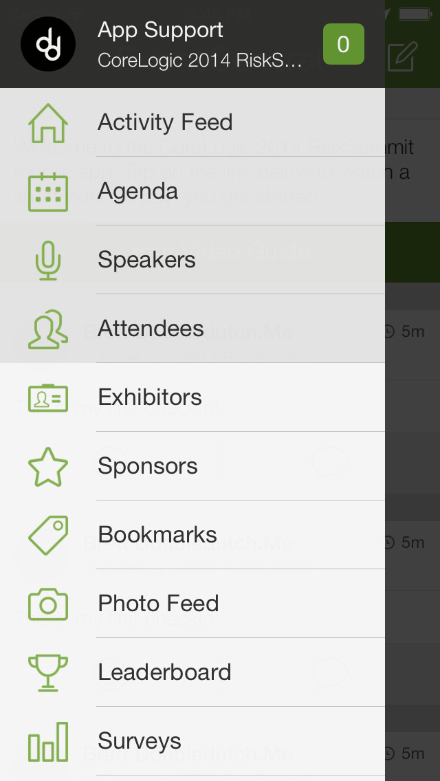 EventCentral screenshot 2