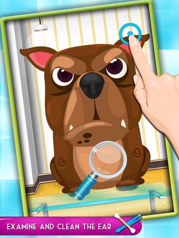 Crazy Pet Nose Doctor : Fun Games for Kids screenshot 8
