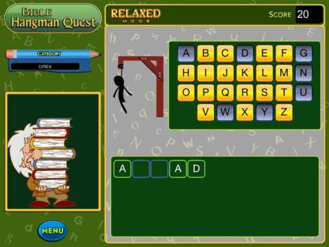 Bible Hangman Quest screenshot 5