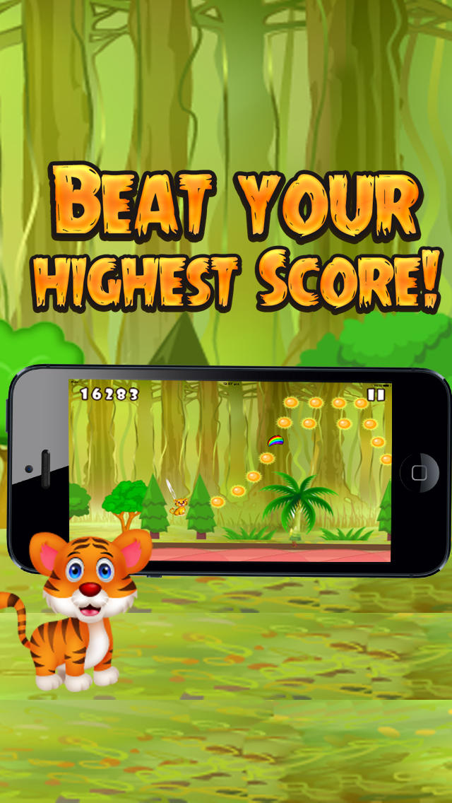 Little Tiger Jungle Jump screenshot 4