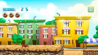 Bull Running Street : Racing against Kid Friends during Day screenshot 2