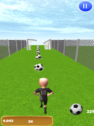 All-Star Soccer Run: Final Race to the World League screenshot 6