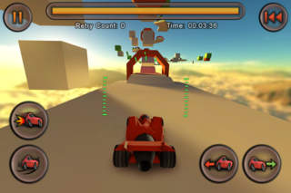Jet Car Stunts Lite screenshot 4