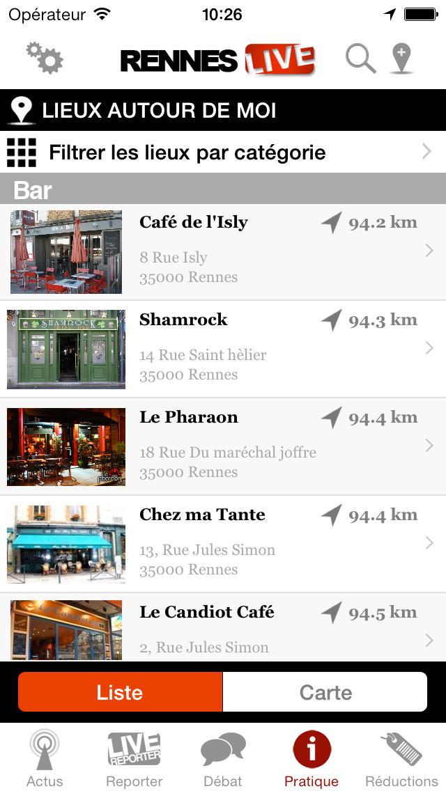 Rennes Live : toute l'actualité de Rennes screenshot 4