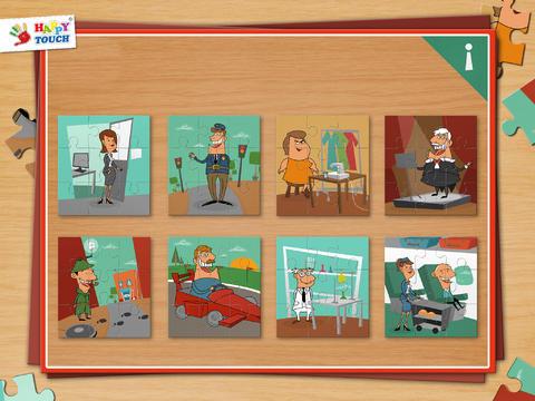 A Funny Job Puzzle - Set 5 - Kids Apps for toddler - náhled