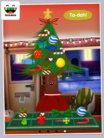 Toca Hair Salon - Christmas screenshot 10