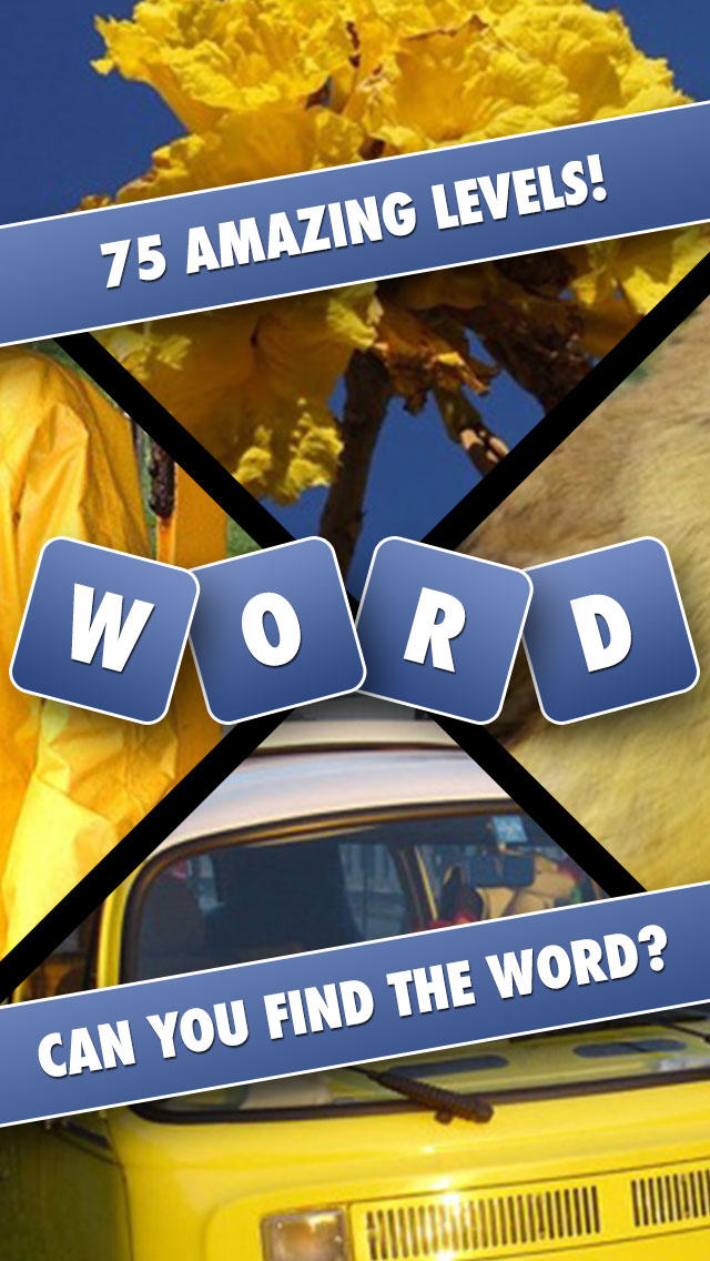 Words and Pics - Guess What's hidden Behind The Four Photos screenshot 1