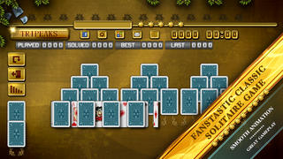 ACC Solitaire [ TriPeaks ] HD Free - Classic Card Games for iPad & iPhone screenshot 2