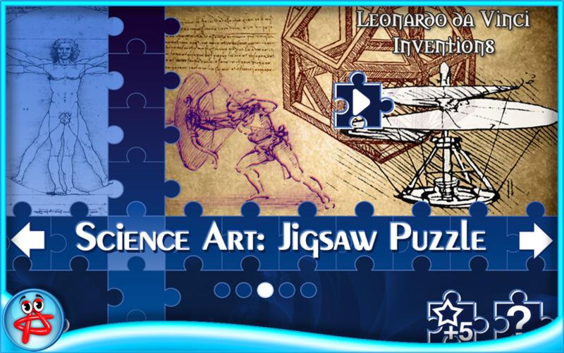 Science Art: Jigsaw Puzzle screenshot 1