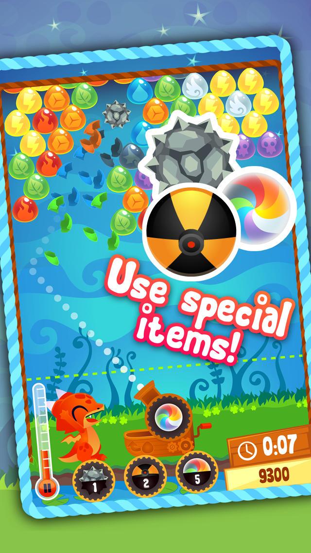 Bubble Dragon - Free Bubble Shooter Game screenshot #3