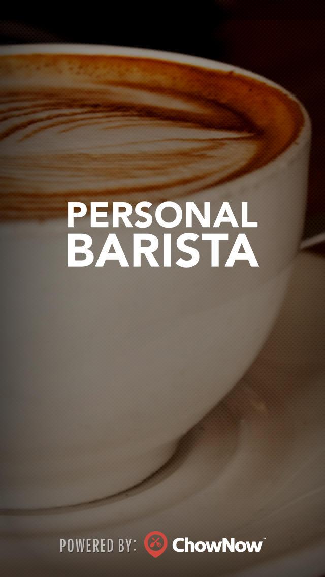 Personal Barista screenshot 1