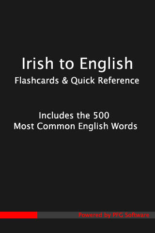 500 Irish Flashcards | Apps | 148Apps