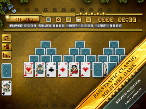 ACC Solitaire [ TriPeaks ] HD Free - Classic Card Games for iPad & iPhone screenshot 5
