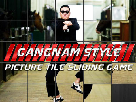 Gangnam in Puzzle Style screenshot 1