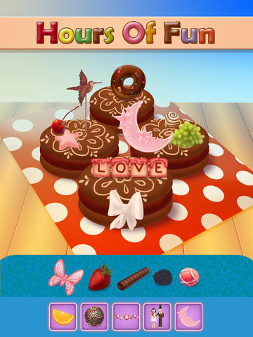 Decorate and Create Crazy Cookies - Dressing Up Game For Kids - ADVERT Free Edition screenshot 6