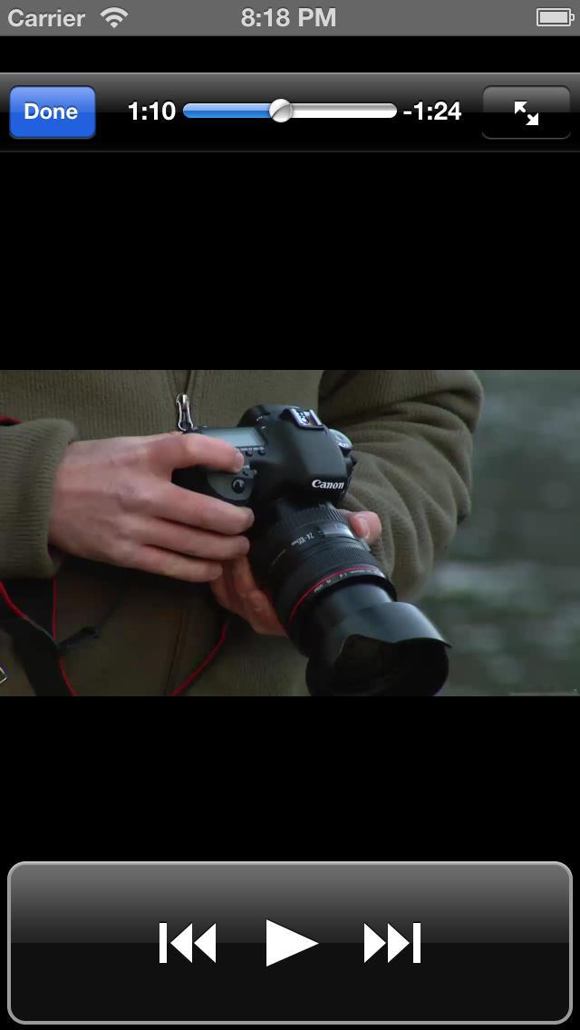 Mastering Photography screenshot 5