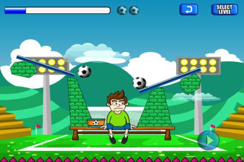 Catch The Soccer Ball Lite - náhled
