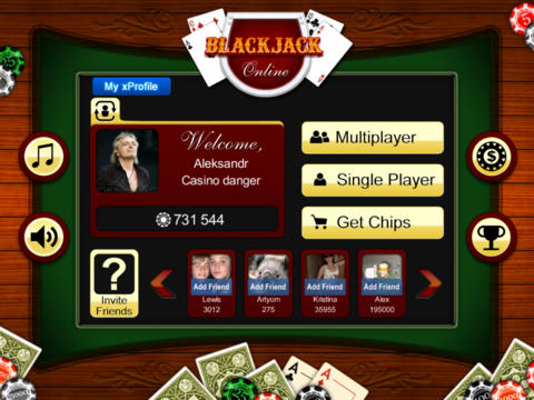 BlackJack Online Free screenshot 9