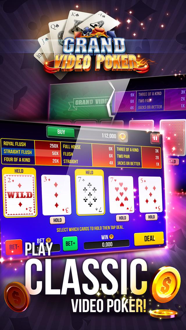 Grand Video Poker screenshot 1