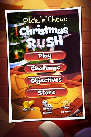 Pick'n'Chew: Christmas Rush screenshot 1